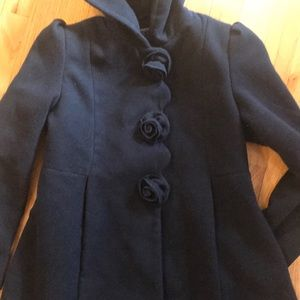 Beautiful Rothschild hooded winter coat.